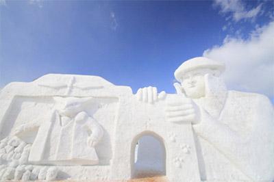 雪まつりといえばこれ!大通会場の大雪像