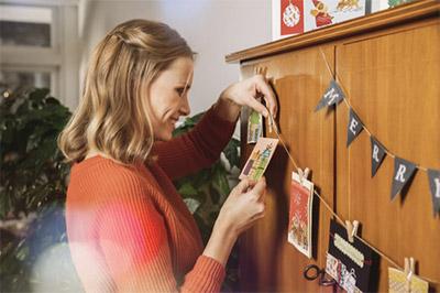 クリスマスカードは、クリスマスを祝って送る海外では一般的な挨拶状です。