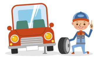 無車検となっている車の後輪が公道に接してしまうため違反となってしまいます。