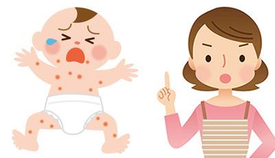 生後4ヶ月以降からできる乾燥が原因の湿疹
