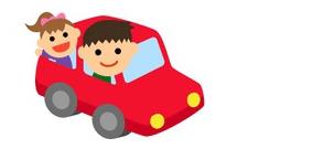 車で移動の場合