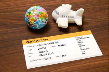 搭乗手続き可能な時刻までは飛行機のチケット予約・ 購入をすることが出来ます。