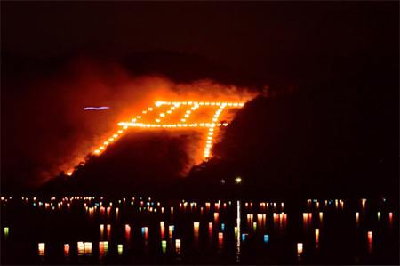 大文字の送り火の由来