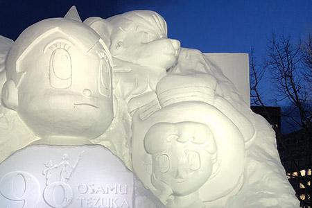 人気を集めていた雪像でしたが筆者的にはちょっとクオリティに・・・