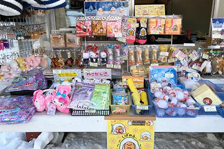 お土産用の出店もたくさんありました。