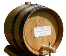 5リットルの木樽ボジョレーヌーボー